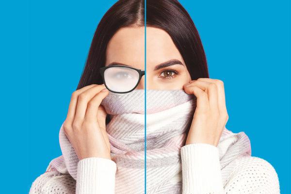 ¿Tus gafas se empañan con el uso de la mascarilla?