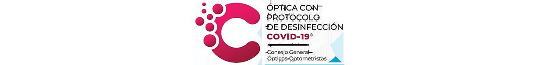 Óptica con protocolo de Desinfección COVID 19